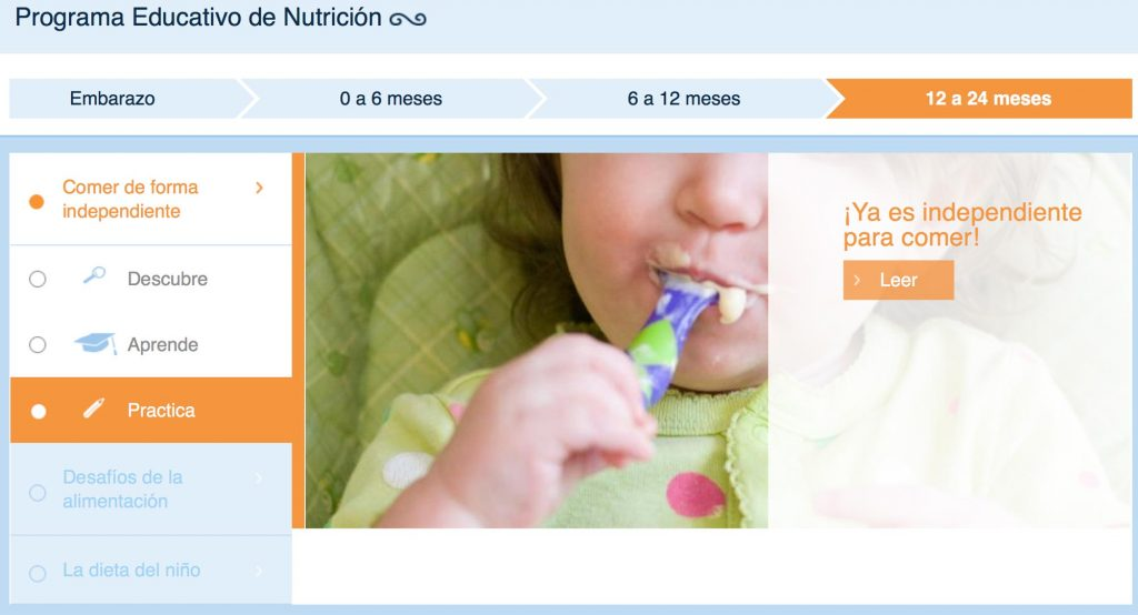 vida saludable para bebés