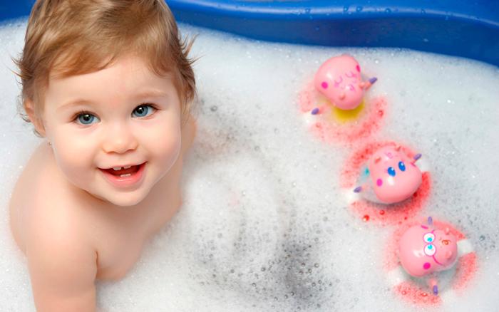 bañar después de la toma