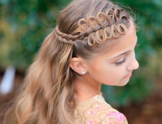 peinados bonitos para pelo largo