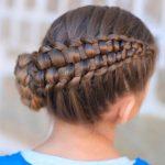 peinados de trenzas para pelo corto