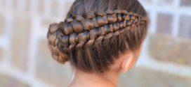Cómo hacer peinados con trenzas fáciles para niña (paso a paso)