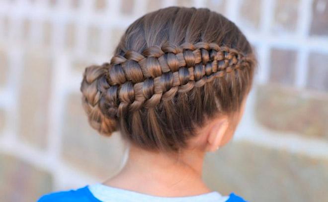 Como Hacer Peinados Con Trenzas Faciles Para Nina