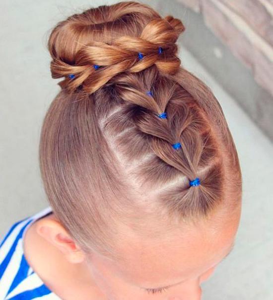 C mo hacer peinados con trenzas f ciles para ni a - Peinados bonitos paso a paso ...