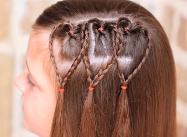 Como Hacer Peinados Con Trenzas Faciles Para Nina - Ver-peinados-para-nia