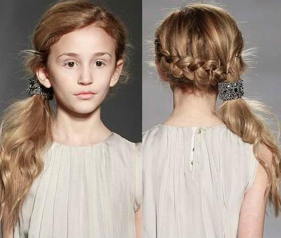 pelo corto niñas