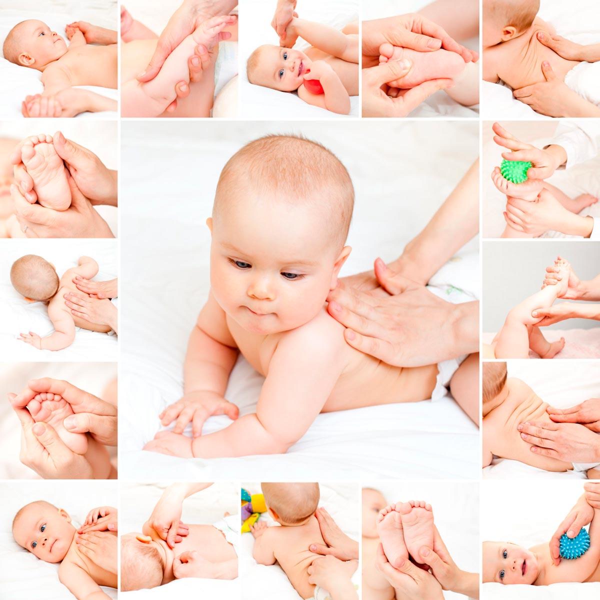 masaje infantil paso a paso