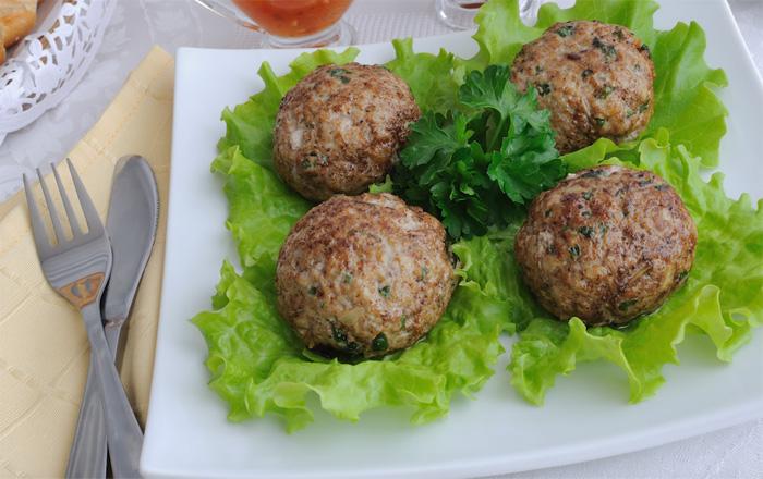 como hacer comida vegetariana albondigas