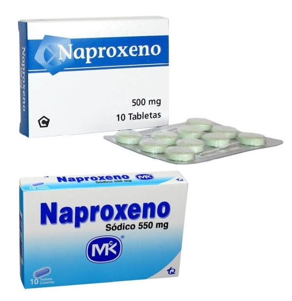 naproxeno 500 mg y naproxeno sodico 550 mg opiniones