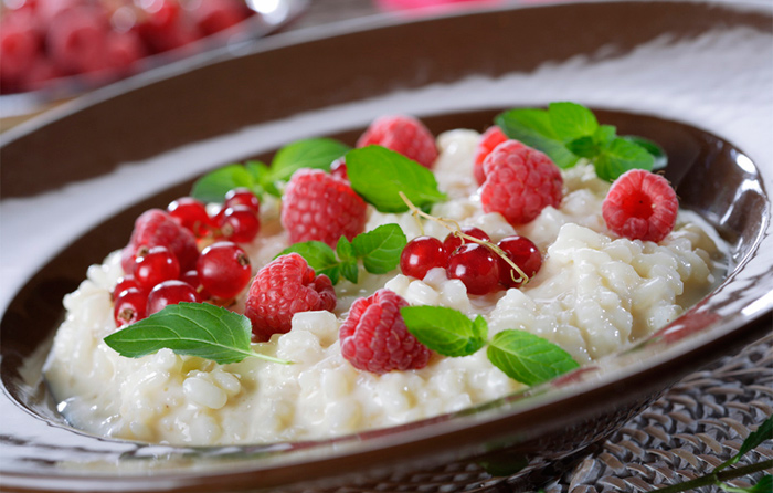 recetas dulces veganas arroz con leche