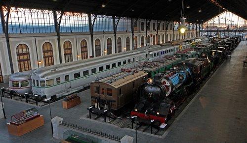 museo del ferrocarril madrid niños