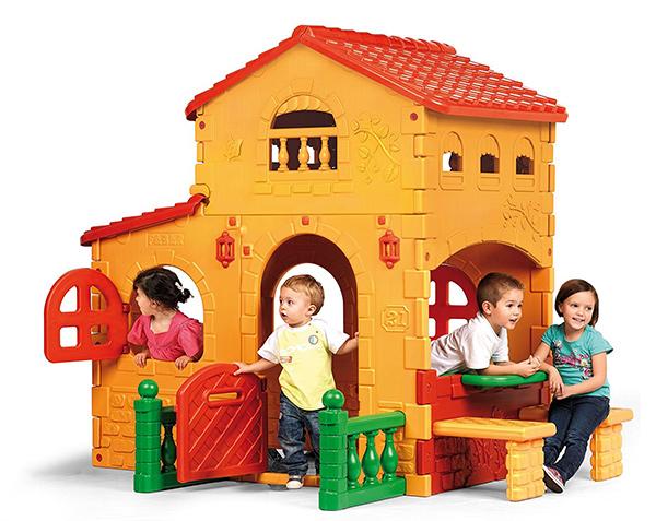 casa juguete jardin