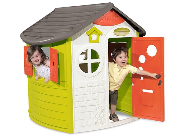 casas jardin niños