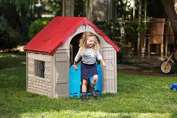 casitas infantiles jardin
