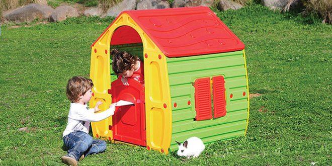 Las mejores casitas infantiles para el jard n baratas - Casitas de madera infantiles baratas ...