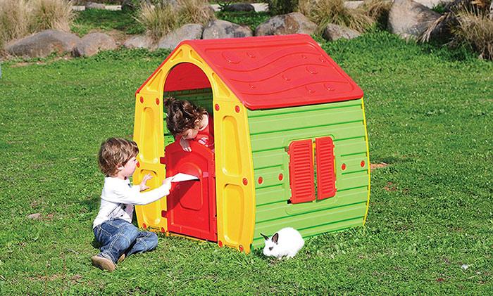 casitas madera niños