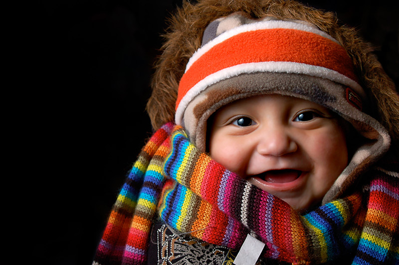 bufanda para niño original