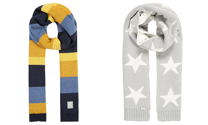 bufandas de ganchillo para niños