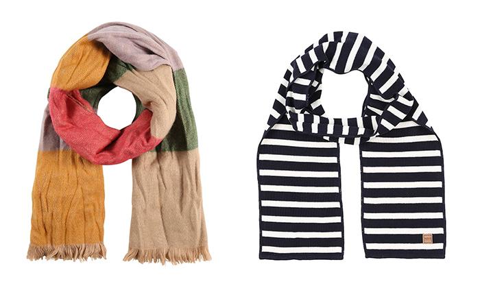 como hacer bufandas de lana para bebes