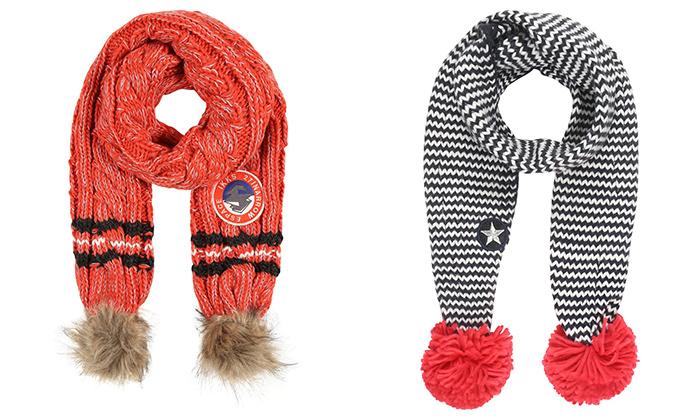 como hacer bufandas de lana para niños