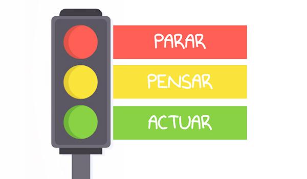 control emociones tecnica semaforo