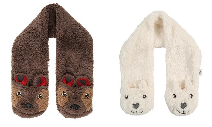 cuellos de lana para niñas