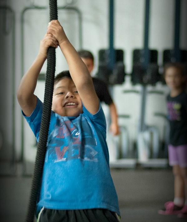 ejercicios crossfit niños
