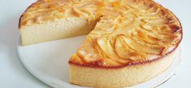 Receta de tarta de manzana fácil y rápida para niños