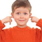 oídos taponados en niños