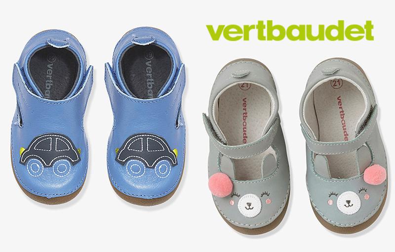 rebajas calzado infantil Vertbaudet