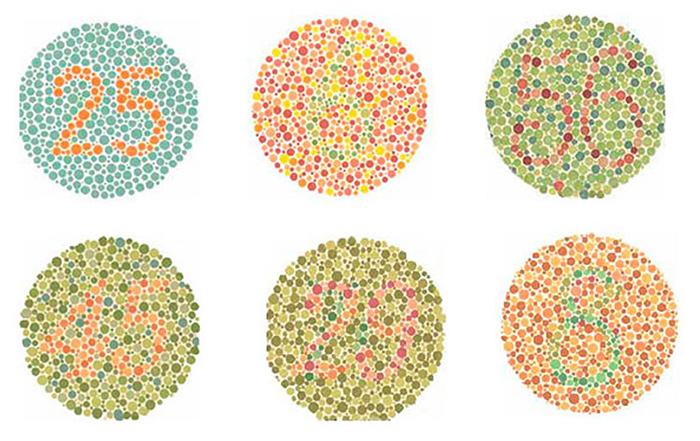 daltonismo en niños pequeños