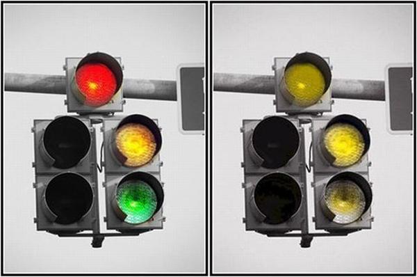 prueba de daltonismo semaforo