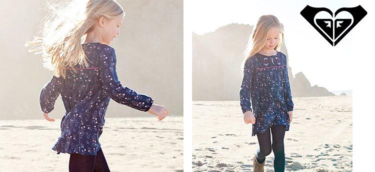 vestidos originales niña Roxy