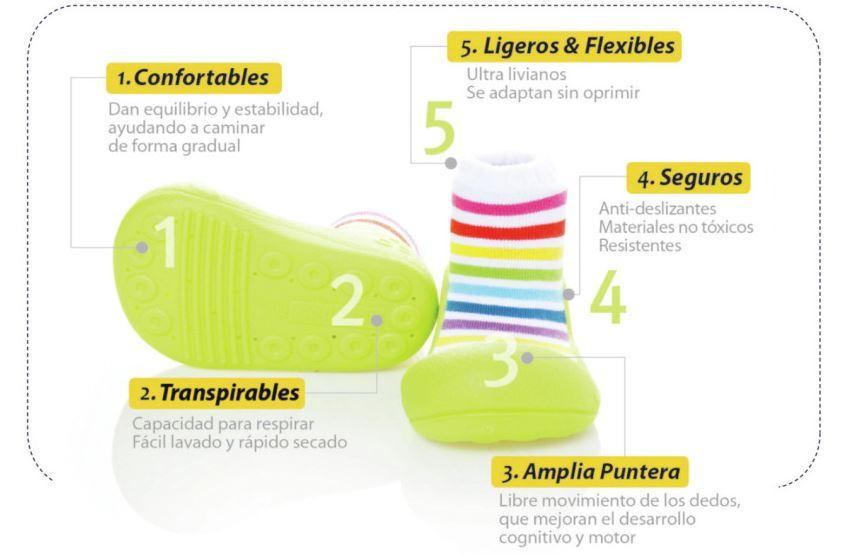 calzado primeros pasos attipas España