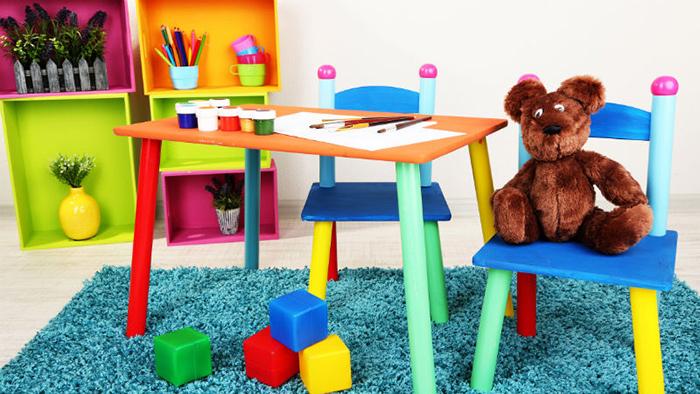ideas de cuartos de juegos para niños