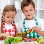 menu cenas niños