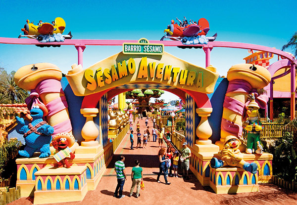parques tematicos niños Port Aventura