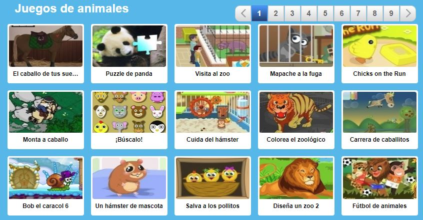 juegos de animales para niños online gratis