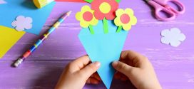 7 manualidades con cartulina para niños; ¡Paso a paso!