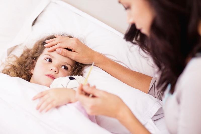 fiebre niños 5 años