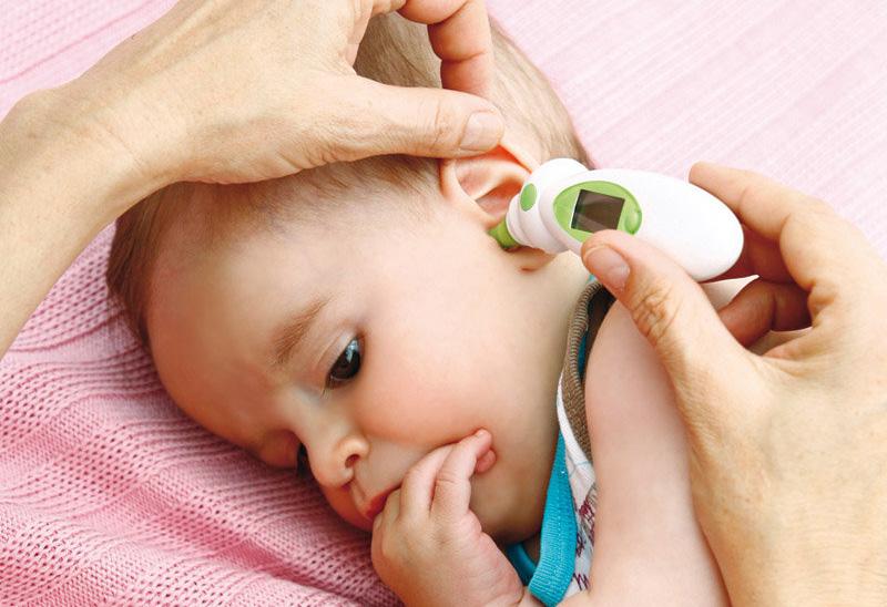 termómetros infrarrojos para bebés