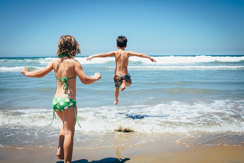 juegos de playa niños