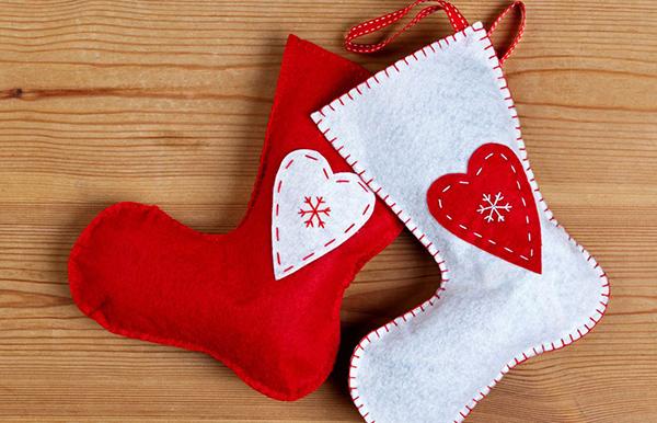 mesas de navidad decoradas sencillas