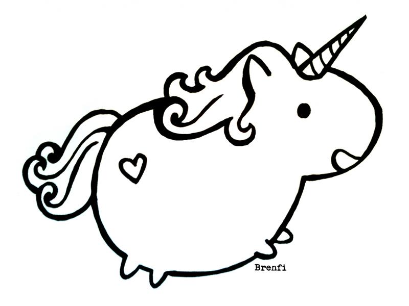 ▷ Dibujos de Unicornios para Colorear ⇒ 【Recopilación】 ⚡️