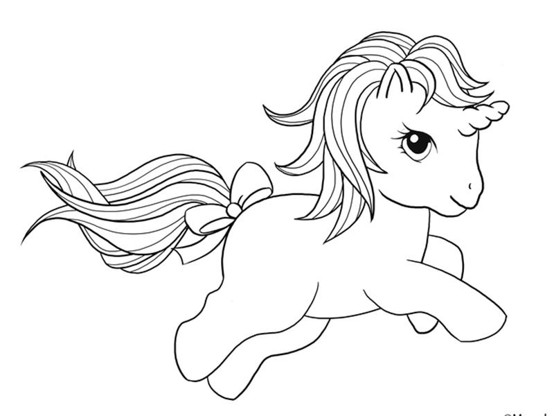 Juegos Para Pintar Gratis: Dibujos De Unicornios Para Colorear ⇒ 【Recopilación】 ⚡️