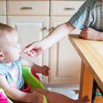 nutrición de un bebé