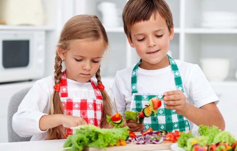 recetas de cocina con verduras para niños