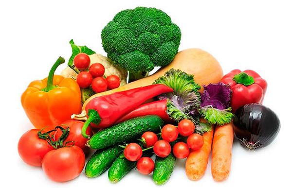 verduras para bebes