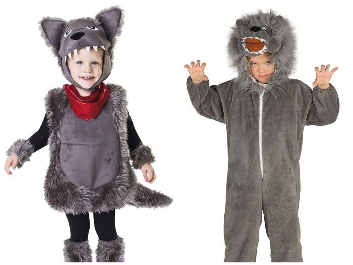 comprar disfraces de lobo para niños