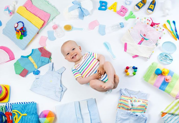 cosas que necesita un bebe recien nacido lista