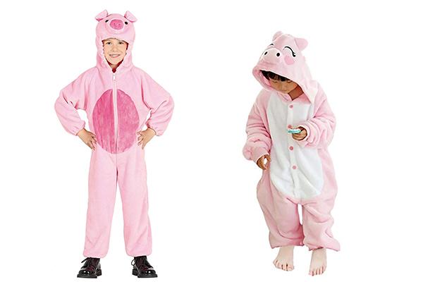disfraz de los tres cerditos para niños